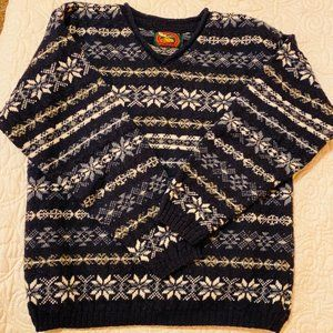 Alps Wool V-Neck Sweater